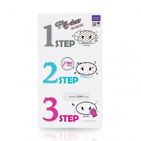 Pig Nose Clear Blackhead 3-Step Kit No Water (5PCS) [Buy 5-PCS & Get 5-PCS FREE]