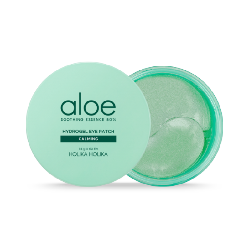 Aloe Soothing Essence 80% Hydrogel Eye Patch