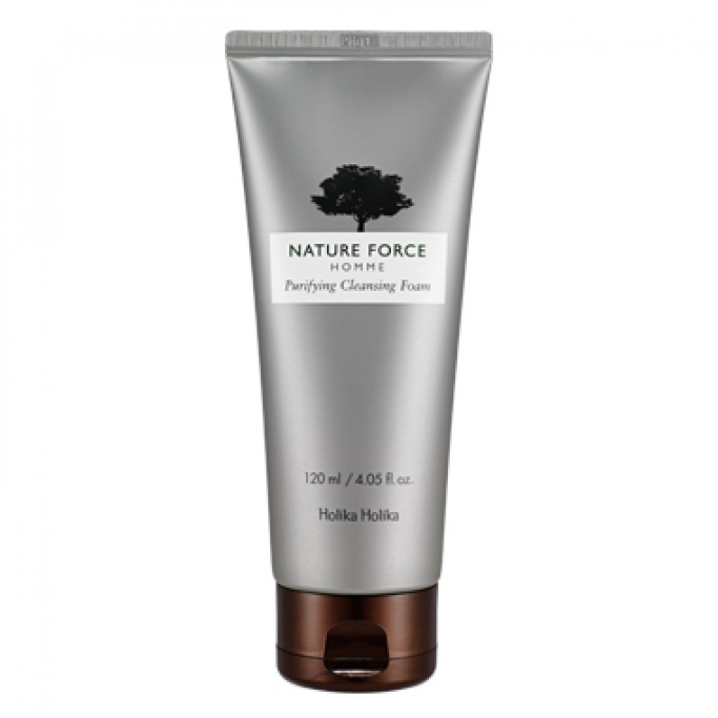 Nature Force Homme Purifying Cleansing Foam