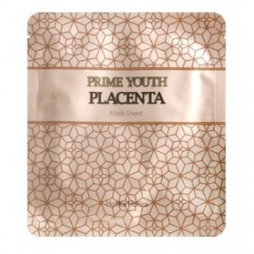 Prime Youth Placenta Mask Sheet [Buy 4-PCS & Get 1-PC FREE]