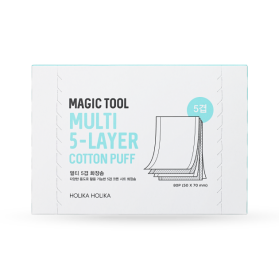 Magic Tool Multi 5-Layer Cotton Puff