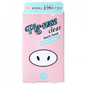Pig Nose Clear Blackhead Perfect Sticker 10Pcs