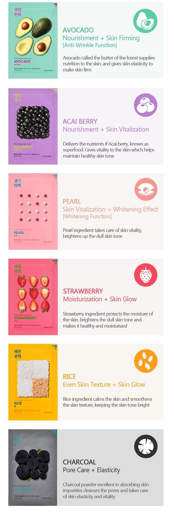Buy Pure Essence Mask Sheet Online   Best Korean Beauty